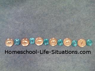 preschool math pattern