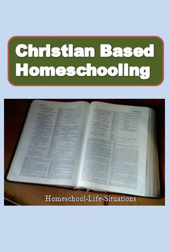 Christian based homeschooling