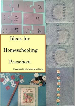 Homeschooling Preschool ideas