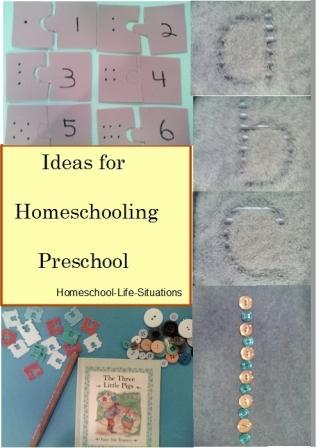 Homeschooling Preschool ideas