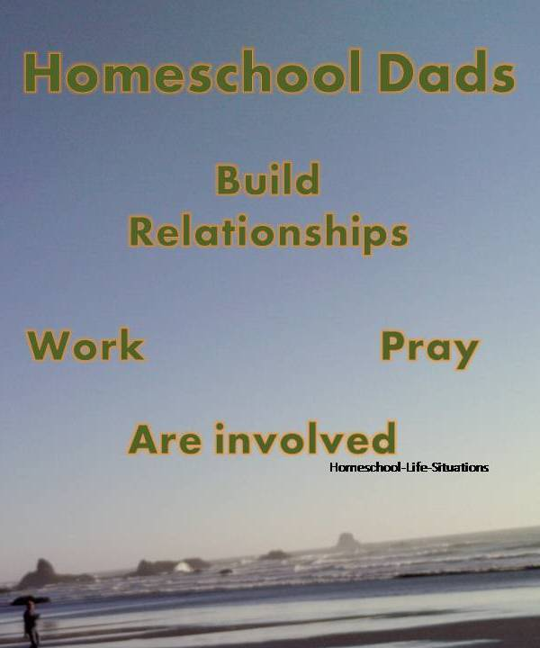 Homeschool Dads help build relationships