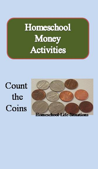 Homeschool Money activities