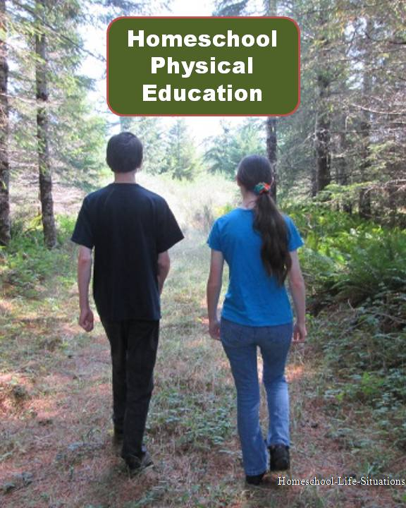 Walking for Homeschool Physical Education
