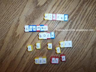 Lego words