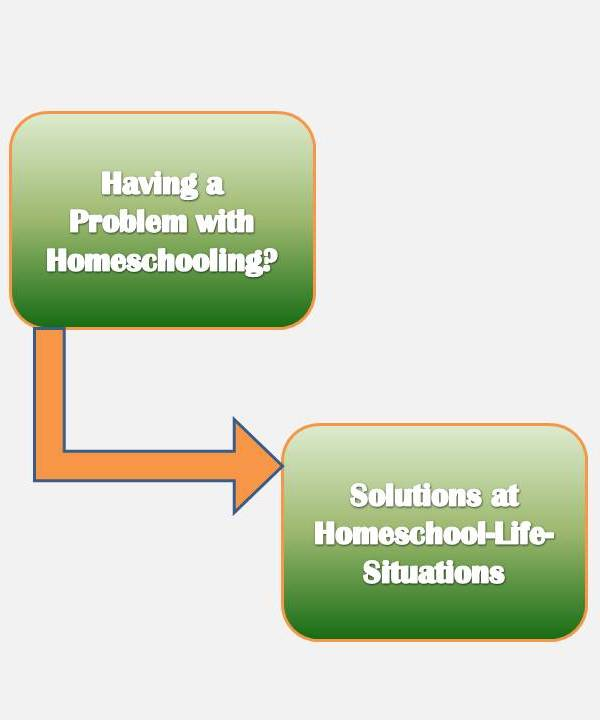 find solutions to homeschooling problems