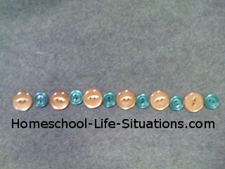 preschool math pattern