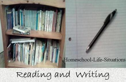Reading and Writing are part of language arts